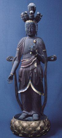 和銅寺の十一面観世音菩薩立像