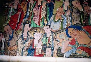 聖福寺の涅槃図