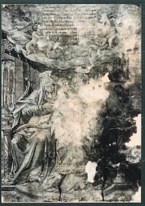 銅版画「聖家族」