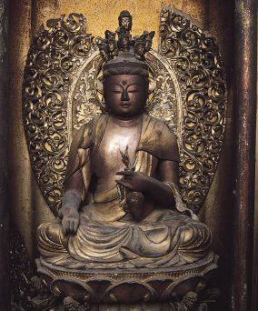 阿弥陀寺の木造十一面観世音菩薩坐像