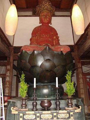 長崎晧台寺の大仏(毘盧舎那仏坐像及び基台)